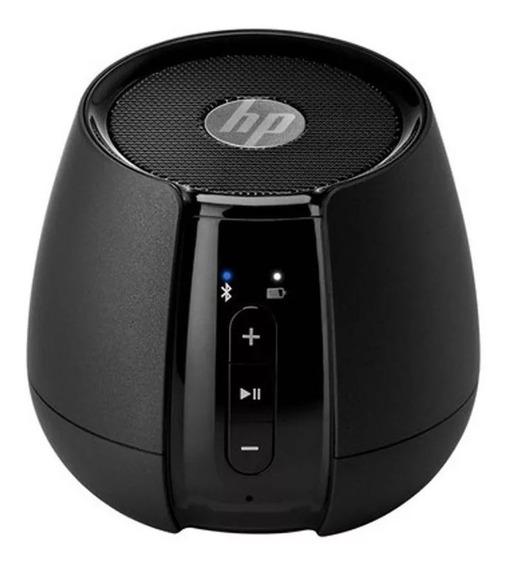Caixa De Som Speaker Mobile Hp S6500 2w Rms Bluetooth Preta