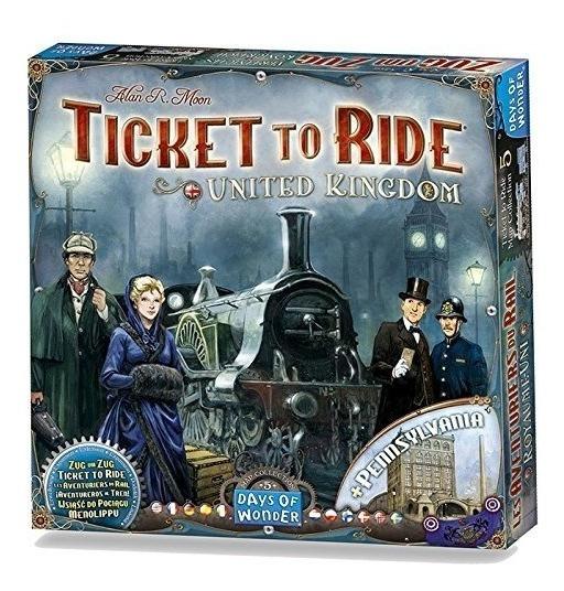 Ticket To Ride Map Collection Volumen 5: Juego De Mesa Del R