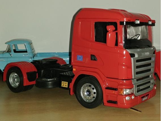Miniatura Caminhao Scania R620 Escala 1/24 Nao Trucada
