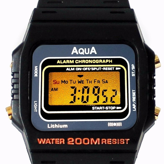 Kit 10 Relógios Aqua Aq 37 Prova D