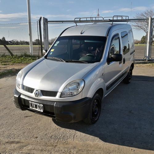 Imagen 1 de 11 de Renault Kangoo 2012 Doble Porton Lateral Con Gnc
