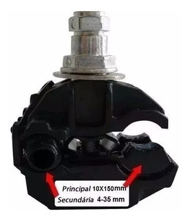 Cabo Conector Perfurante Cdp150 4-35x10-150 50und Intelli
