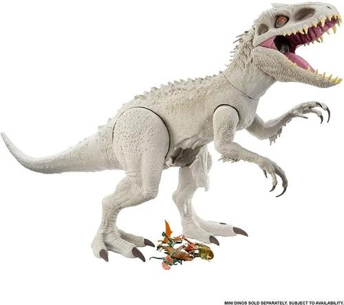 Imagen 1 de 7 de  Jurassic World Indominus Rex Gigante Camp Cretaceous Gph95