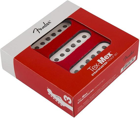 Fender Tex-mex Set De Micrófonos Para Stratocaster