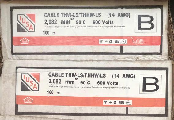 Rollo Cable Iusa Nº 14 Varios Colores