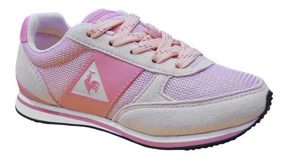 Zapatillas Le Coq Sportif Runner Urbanas Mujer Rosa