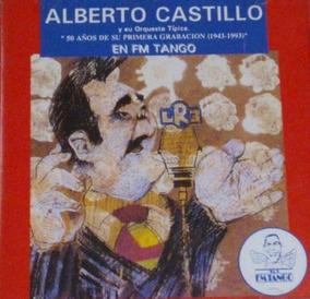 Alberto Castillo En Fm Tango - Cd Tango