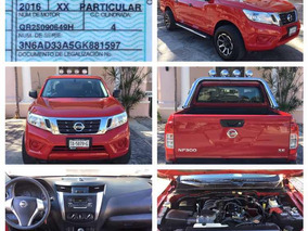 Nissan Np300 2.4 Doble Cabina Se Aa Pack Seg Mt 2016