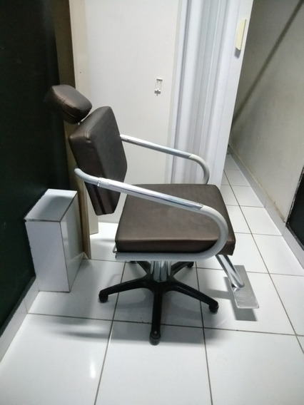 Cadeira Para Salão De Cabeleireiro Ou Barbearia