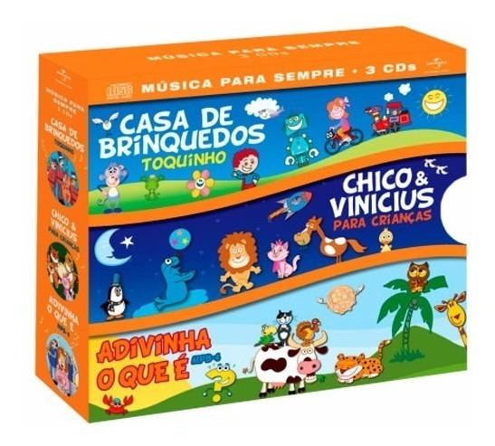 Cd Box Casa De Brinquedos Chico & Vinicius Adivinha O Que É