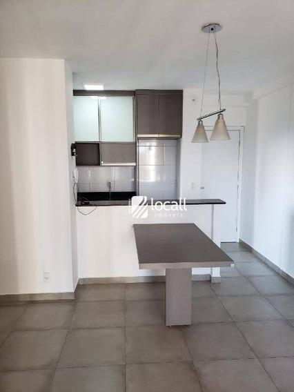 Apartamento Com 2 Dormitórios Para Alugar, 71 M² Por R$ 1.700/mês - Jardim Novo Mundo - São José Do Rio Preto/sp - Ap1867