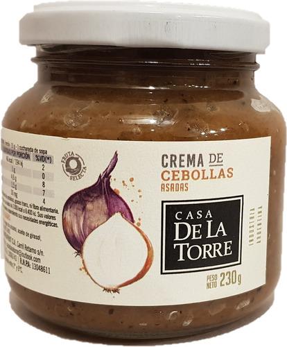 Crema De Cebollas Asadas De La Torre Mendoza 230 Grs Frasco