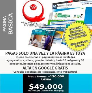 Páginas Web Básicas Económicas Y Páginas Autoadministrables