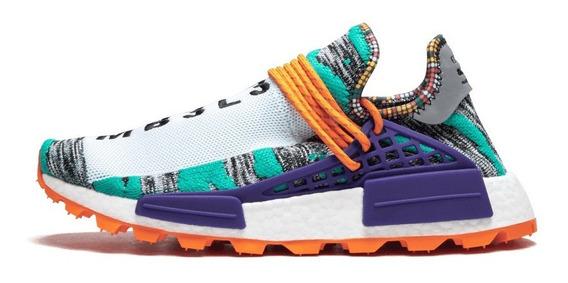 Tenis Zapatillas adidas Nmd Hu Pharrell Solar Pack Hombre
