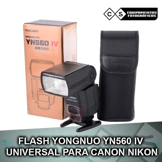 Flash Yongnuo Yn560 Iv - Para Canon Nikon, T5, T5i, T6, T6i