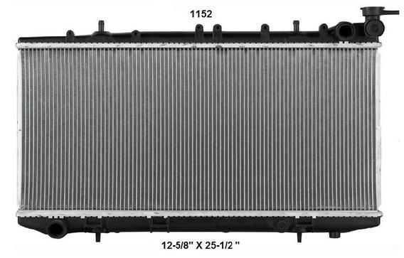 Radiador Nissan Tsuru 2003 Deyac T/m 16 Mm