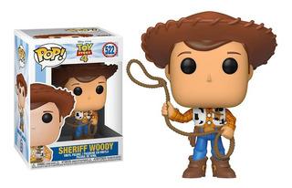 Funko Pop Woody Sheriff #522 Toy Story 4 Jada Jugueterialeon