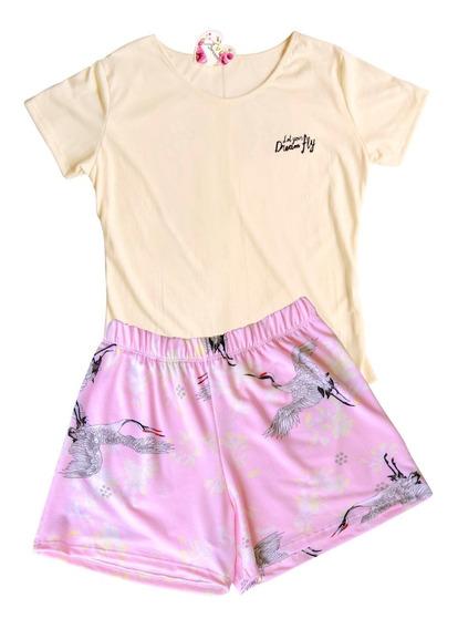 Pijama Musculosa Con Short.