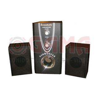 Parlante Pc 2.1 Con Subwofer M100 Senon 3002858