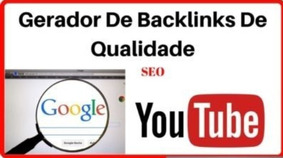 Gerador De Backlinks 2018