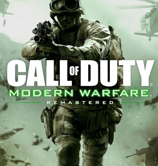 Call Of Duty Modern Warfare Remastered + 1 Jogo Pc - Dvd