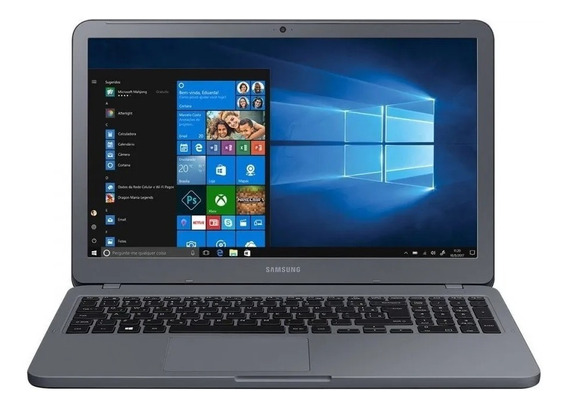 Notebook Samsung I3 4gb 1tb 15,6 Win 10 + Pacote Office 10