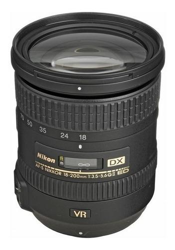 Nikon Af-s Nikkor 18-200mm Dx-ed