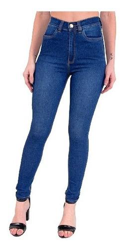 Imagem 1 de 7 de Calça Jeans Cigarrete Com Cinta Feminina Revanche Marianne