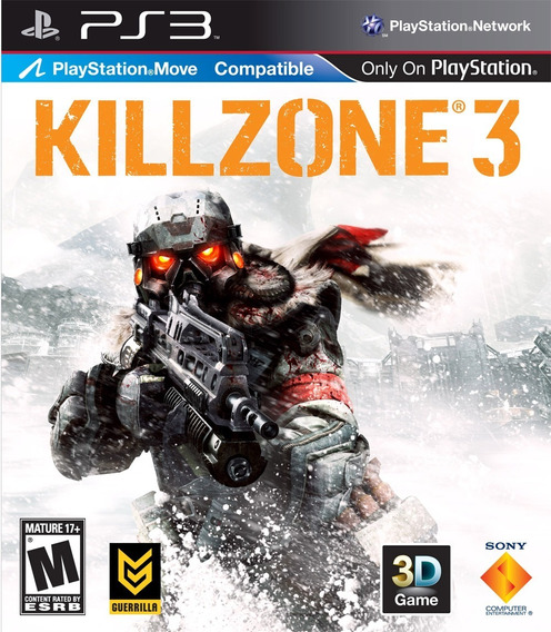 Killzone 3 - Ps3 - Mídia Física