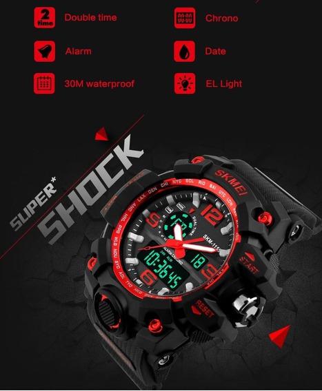 Relógio Skmei Digital 1155 Original 2 Em 1 Varias Funções