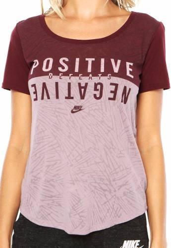 Camiseta Nike Positive Blusinha Semi Transparente Casual