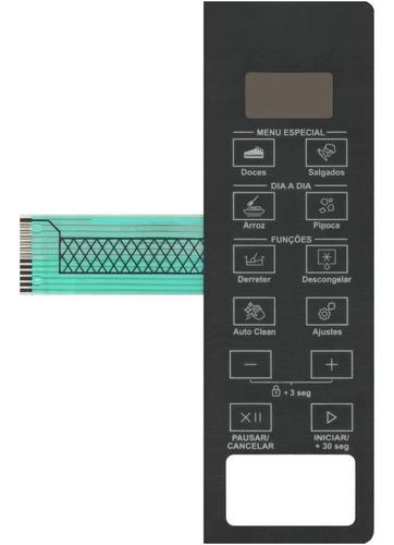 Imagem 1 de 2 de Membrana Teclado Microondas Brastemp Bms20ar Bms 20ar