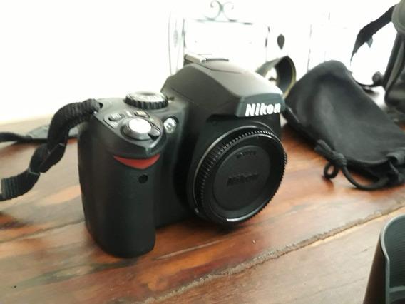Camera Nikon D40 Com Duas Lentes