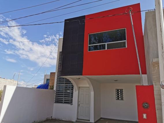 Moderna Casa Habitación En Venta Fraccionamiento Fstse