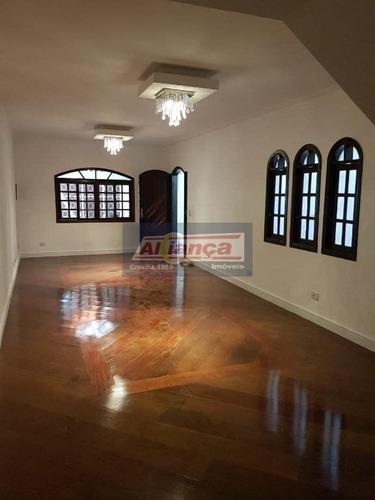 Sobrado Com 4 Dormitórios À Venda, 226 M² Por R$ 795.000,00 - Vila Galvão - Guarulhos/sp - Ai20042