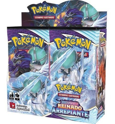 Imagem 1 de 3 de Booster Box Reinado Arrepiante - Pokémon Tcg [ee6]
