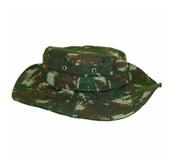 Chapéu Camuflado Boonie Hat Eb Proteção Uv Fator 50