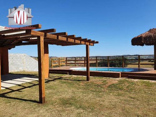 Linda Chácara Com 02 Dormitórios, Lugar Alto, Ótimo Bairro À Venda, 2000 M² Por R$ 300.000 - Zona Rural - Pinhalzinho/sp - Ch0581