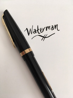 Pluma Fuente Vintage Waterman Flexible