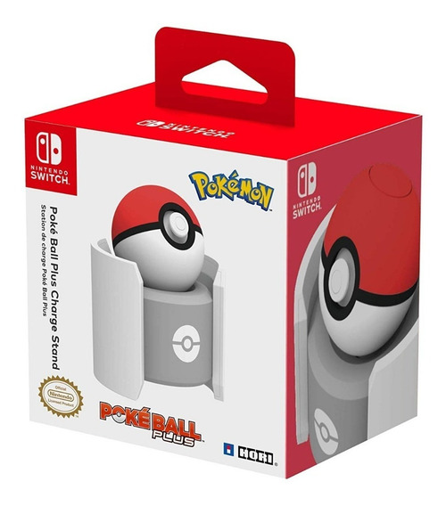 Base Carga Pokeball Stand Pokebola Nintendo Switch