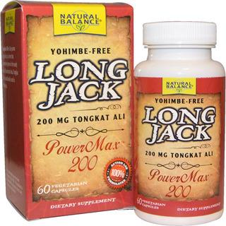 Long Jack ( Tongkat Ali) 200mg 60 Capsulas Cod. 197