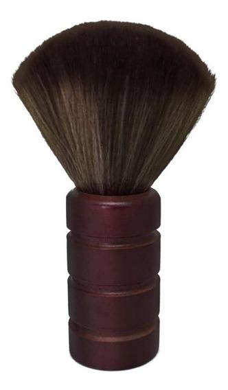 Espanador Pincel Madeira Macio Para Cabeleireiro Barbeiro