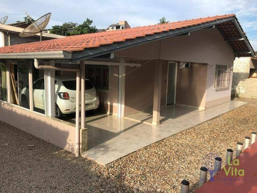 Casa Com 3 Dormitórios À Venda, 170 M² Por R$ 340.000,00 - Gaspar Mirim - Gaspar/sc - Ca0455
