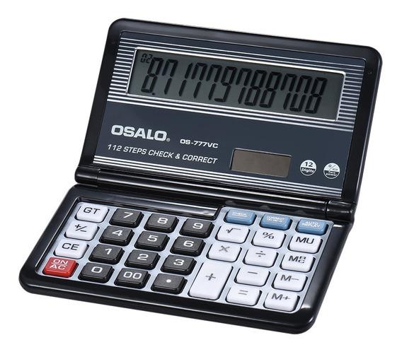 3*calculadora Eletrônica Dobrável Desktop 12 Dígitos 112