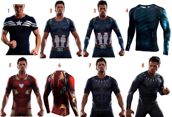 Polo Marvel Infinity War Avengers 3 Vengadores Deportivo