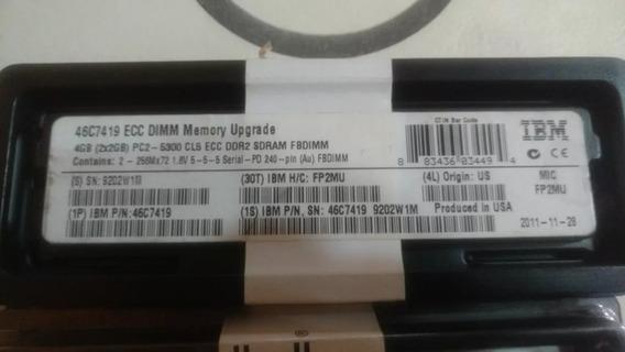 Ibm 46c7419 4gb (2x2gb) 667mhz Pc2-5300