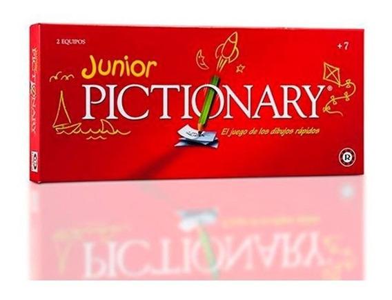 Juego De Mesa Pictionary Junior Juego De Dibujo 7901 E.full