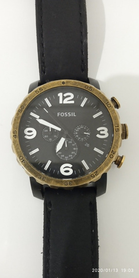 Relógio Fossil Impecável Original - Todos Os Acessórios