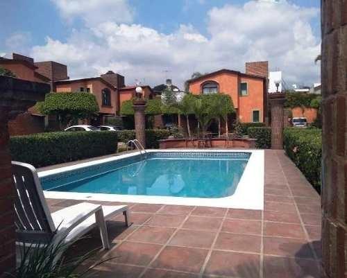 B3295.-linda Casa En Condominio Lomas De Cortes