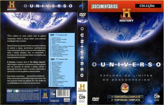 Dvd Box Documentario Ficção Toda Serie O Universo 21 Dvds
